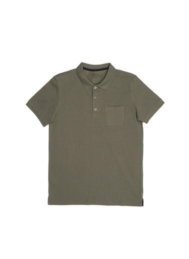 Limon Company Limon Haki Polo T-Shirt Haki